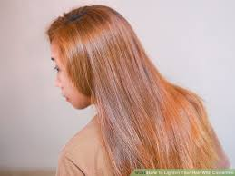 How Long Wait To Wash Hair After Color - 3 ways to lighten your hair with cinnamon wikihow