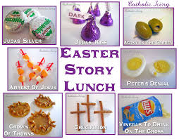 story of the passion lunch symbolic lunch for good friday
