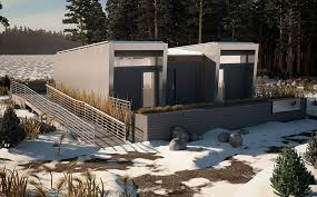 Home Design Jobs Calgary Students In Alberta Have Created A Sustainable Modular Home For