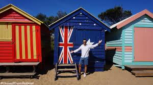 the famous brighton beach huts melbourne australia