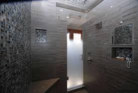 Frosted Frameless Shower Doors by Glass Shower Door Photos River Glass Designs