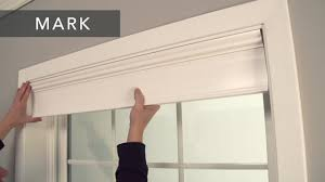 bali blinds how to install wood and faux wood cornices inside