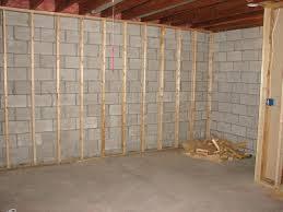 wall ideas framing basement wall framing basement walls moisture