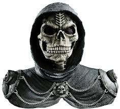 halloween animated props for sale dark reaper mask u0026 shoulders mad about horror
