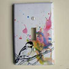 painted light switch covers how to paint light switch covers home design diy cover tribal print