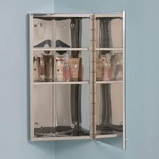 corner medicine cabinet vintage matson stainless steel corner medicine cabinet bathroom