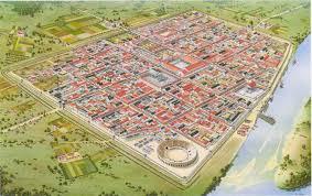 Sleep Train Amphitheater Map The Roman Colony Of Ulpia Traiana In Xanten Netherlands Roma