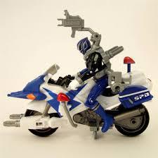 power rangers spd patrol cycle u0026 14cm figure ebay