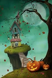 halloween backdrops holidays