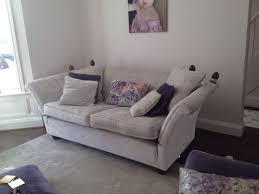 Ebay Chesterfield Sofa by Knole Sofa Settee Silver Crushed Velvet Chenille Bespoke With Drop