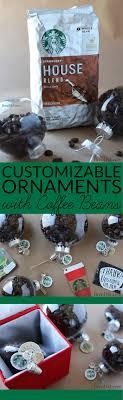 craft idea coffee bean ornaments bren did