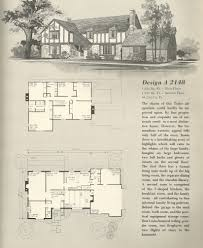 Tudor Floor Plans by Vintage House Plans 1970s English Style Tudor Homes Antique
