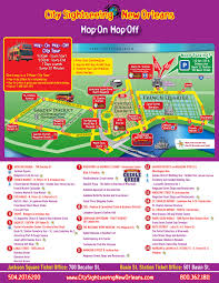 French Quarter New Orleans Map by New Orleans Double Decker Hop On Hop Off Bus Tours Tripshock