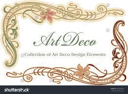 art deco design element corner stock vector 103296938 shutterstock