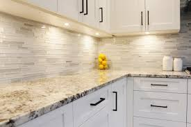 kitchen countertop backsplash kitchen dining glass tile backsplash design combine with white