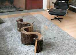Wood Trunk Coffee Table Modern Contemporary Tree Trunk Coffee Table U2014 Rs Floral Design