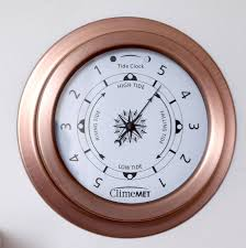 sailing weather gift tide and time or barometer dials by climemet