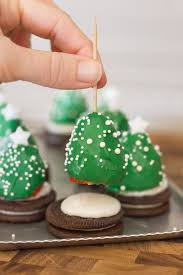 Where Can I Buy White Chocolate Covered Oreos Chocolate Covered Strawberry Christmas Trees Lovely Little Kitchen