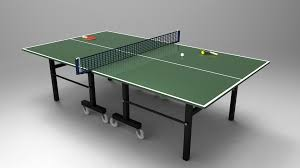 table tennis and ping pong table tennis ping pong table 3d cad model library grabcad