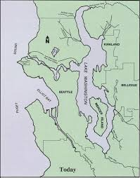 Map Of Sequim Wa Bodies Of Water Of Seattle Wikipedia