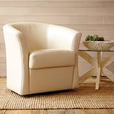 Swivel Bucket Chairs Isaac Ivory Swivel Chair Pier 1 Imports