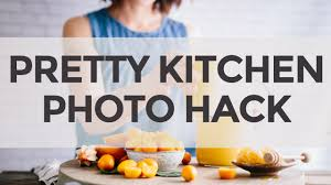 faux kitchen backdrop hack for food photography youtube