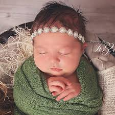 newborn headbands newborn lace headband rhinestone for newborn photo prop baby