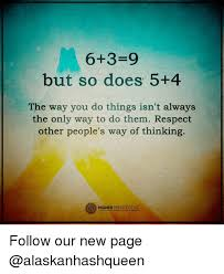 Perspective Meme - 6 3 9 but so does 5 4 the way you do things isn t always the only
