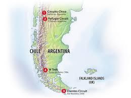 Chile South America Map by The Southern Cone South American Adventure Aqui Es Una Mapa De