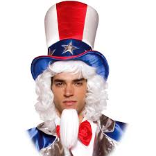 patriotic halloween costumes uncle sam top hat buycostumes com