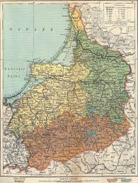 King Of Prussia Map Ostpreussen Map 1917 Tags Königsberg