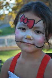 halloween face paint kids black background best 25 kitty face paint ideas only on pinterest cat face