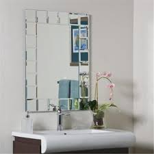 Walmart Bathroom Mirrors Decor Ssm414 1 Montreal Modern Bathroom Mirror
