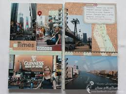 travel photo album travel album usa trip creative scrapbooking