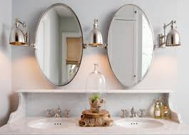 Beveled Bathroom Vanity Mirror Beveled Tilt Oval Bathroom Vanity Mirrors Beveled Bathroom For