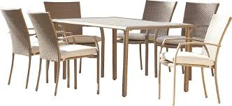 highland dunes zada 7 piece dining set with cushion u0026 reviews