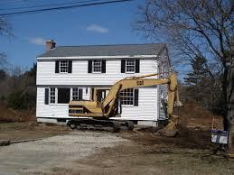 home demolition u0026 new house preparation c g construction co