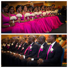 Ideas For Black Pink And Nigerian Wedding 50 Beautiful Color Coordinating Ideas For Your