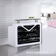 Marble Reception Desk Arcade Imitation Marble Paint Company Reception Desk Reception