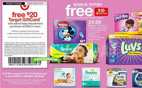 gift card purchase free 20 target gift card with baby purchase simple coupon deals