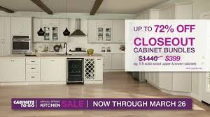 kitchen cabinets for sale cabinets to go annual kitchen sale tv commercial sale of the season