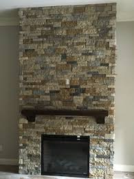 airstone fireplace makeover done and done loved using the
