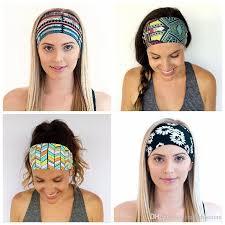 sport headbands hot wide cotton stretch elastic sport women headband hair