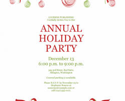 christmas party invite template christmas party invite template