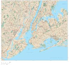 New York City Area Map by High Resolution Map Of New York City You Can See A Map Of Many