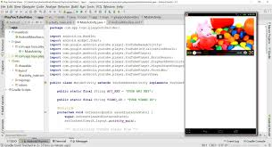 tutorial java play tutorial how to play youtube video using youtube android player api