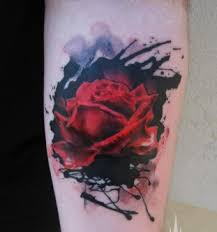 flower tattoos rose tattoos are bloomin u0027 body art