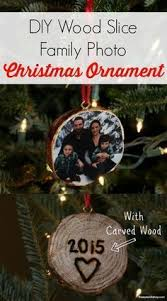 transferring images onto wood slice ornaments ornament woods