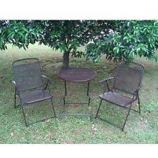 Iron Table And Chairs Patio Bistro Table And Chairs Home U0026 Garden Ebay