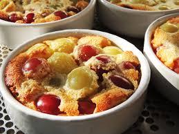 midi en recettes cuisine midi cuisine clafoutis aux raisins frais recette de savoy